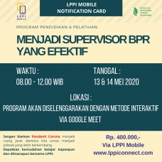 Menjadi Supervisor yang Efektif untuk BPR