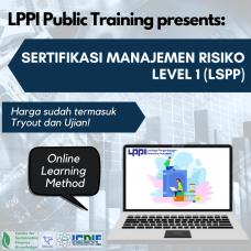 Sertifikasi Manajemen Risiko Level 1 (LSPP)