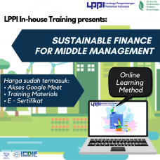 In-house Training : Sustainable Finance for Middle Management
