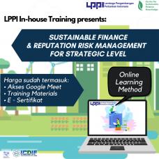 In-house Training : Sustainable Finance & Reputation Risk Management for Strategic Level