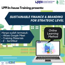 In-house Training : Sustainable Finance & Branding for Strategic Level