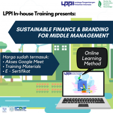 In-house Training : Sustainable Finance & Branding for Middle Management