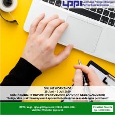 Workshop: Sustainability Report (Laporan Keuangan Keberlanjutan)