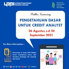 Pengetahuan Dasar Untuk Credit Analyst
