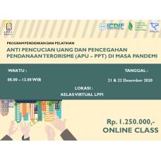 Anti Pencucian Uang Dan Pencegahan Pendanaan Terorisme (APU – PPT) Di Masa Pandemi