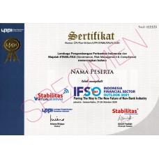 Sertifikat IFSO 2021