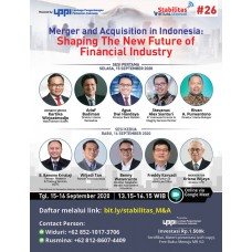 VIRTUAL SEMINAR: Merger and Acquisition in Indonesia: Shaping The New Future of Financial Industry